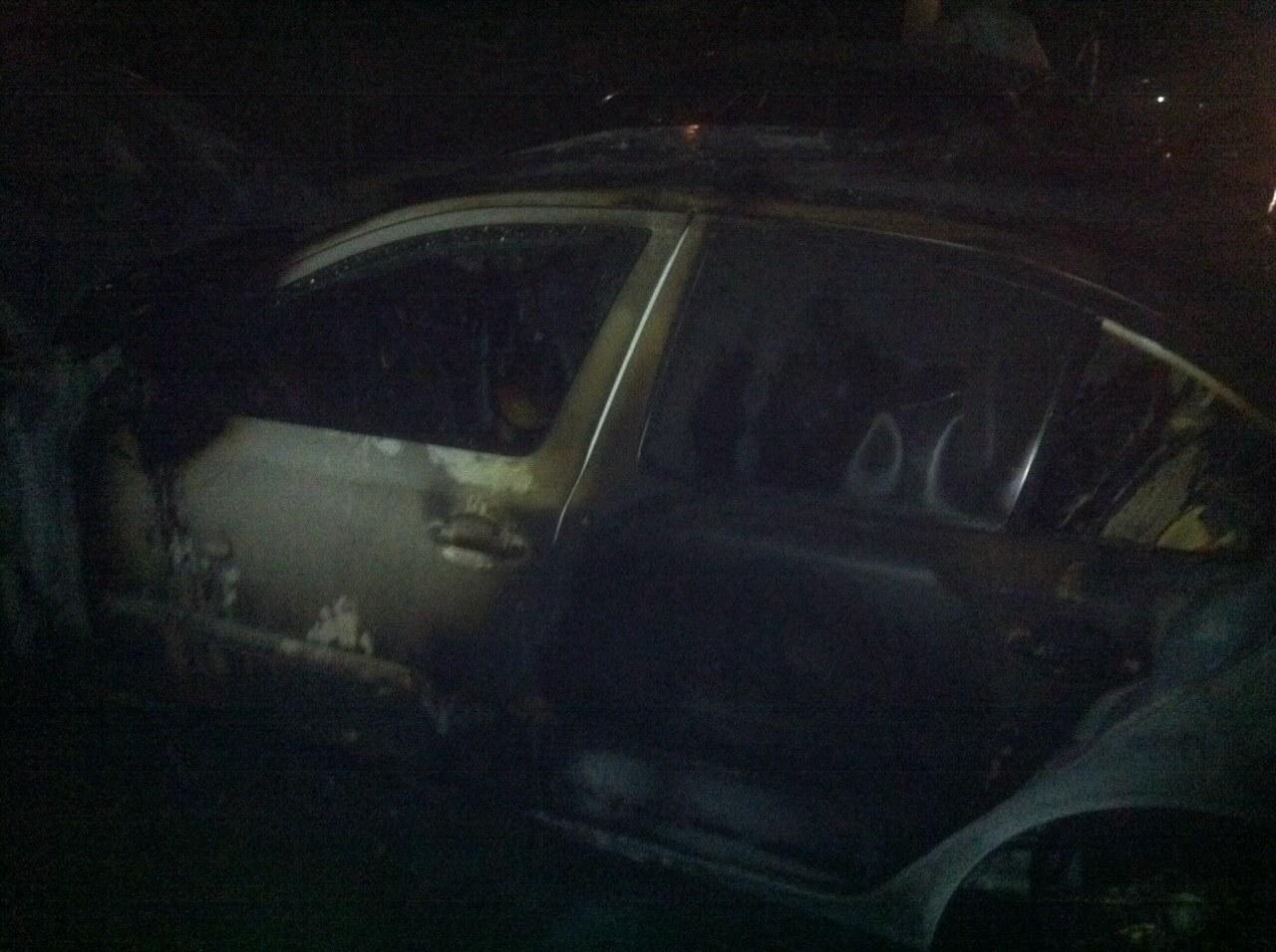 Пожежа на Закарпатті: горіли дві автівки (Фото)