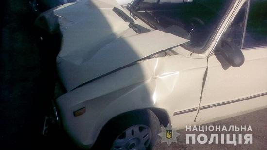 На Перечинщині мотоцикліст зіткнувся з легковиком