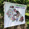 Ужгородський Скансен отримав у подарунок вишиту карту Закарпаття (Фото)